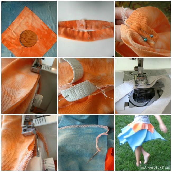 Quick Summer Skirt   The Sewing Loft