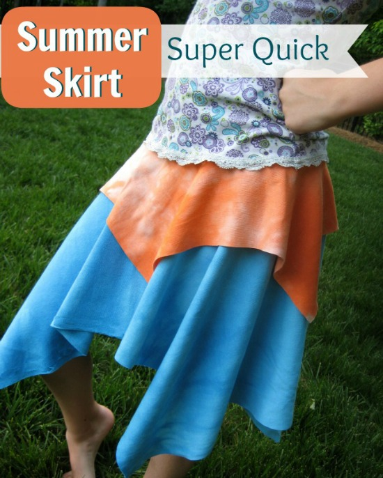 Quick and East Summer Skirt   The Sewing Loft