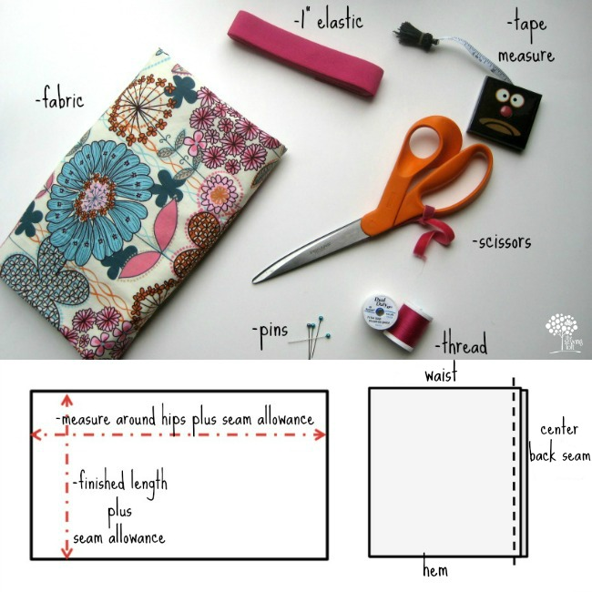 Simple Skirt Instructions   The Sewing Loft