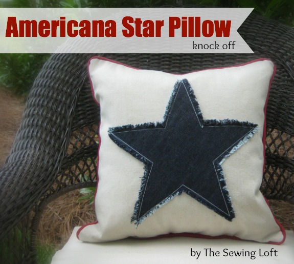 Star Fringe Pillow