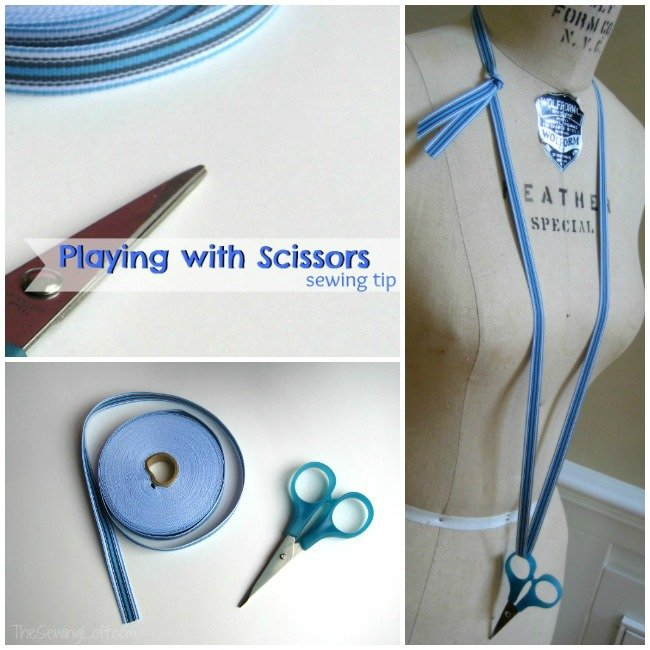 Keeping Scissors Close: Quick Tip | The Sewing Loft