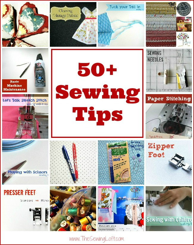 Easy Sewing Tips | The Sewing Loft