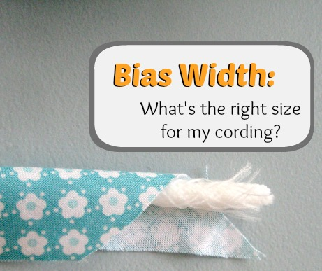 Bias Width - What's the right size?| The Sewing Loft