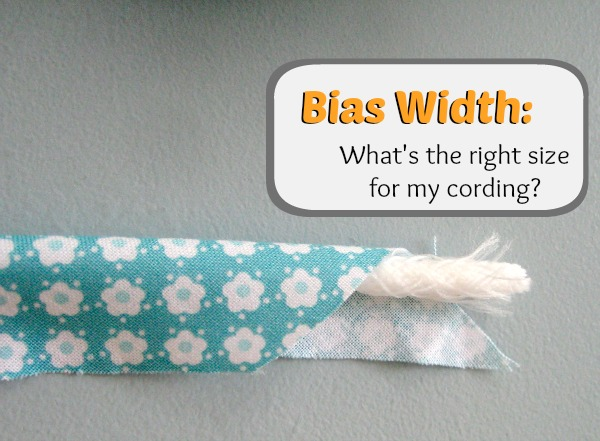 Determine Bias for Cording | The Sewing Loft