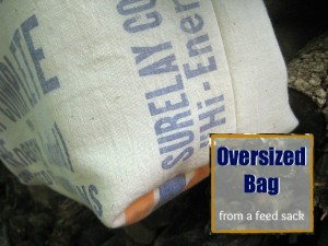 From Feed Sack to Oversized Bag