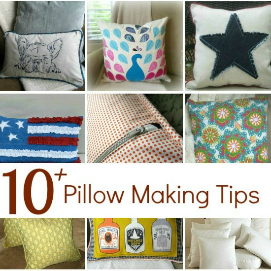 How To Make A Decorative Pillow With A Zipper : Easy Zipper Pillow Cover - The Sewing Loft