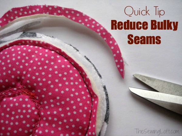 Reducing bulky seams can elevate your project to the next level. The Sewing Loft