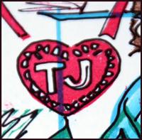 TJ Goerlitz initial stamp