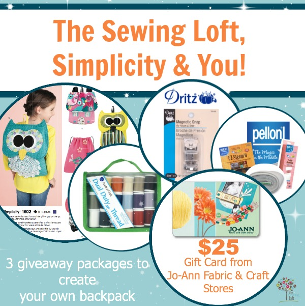 The Sewing Loft Giveaway