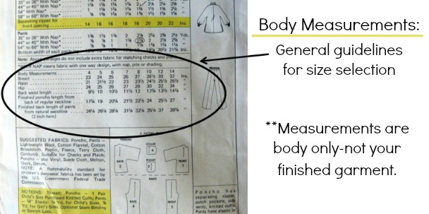 Check Body Measurements when pattern fitting | The Sewing Loft