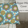 Easy Zipper Pillow Cover