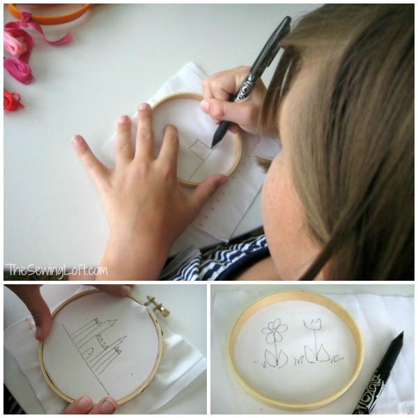FunStitch Studio Camp Drawing | The Sewing Loft