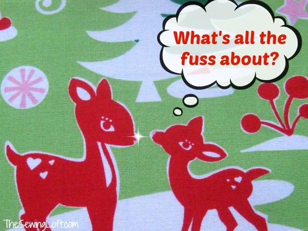 Fussy Cut | The Sewing Loft