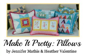 Make It Pretty Pillows Ebook | The Sewing Loft