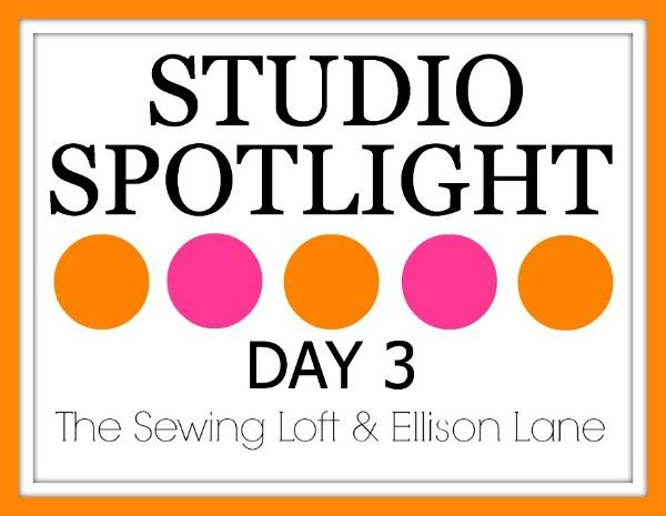 studio spotlight series day three| The Sewing Loft