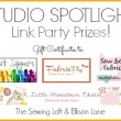Studio Spotlight Tour Link Party