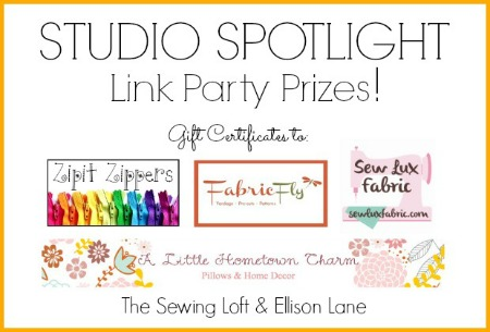 Studio Spotlight Series Giveaway | The Sewing Loft