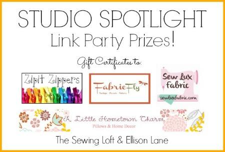 Studio Spotlight Series Giveaway | The Sewing Loft