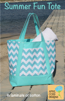 Summer Fun Tote by April Cobb