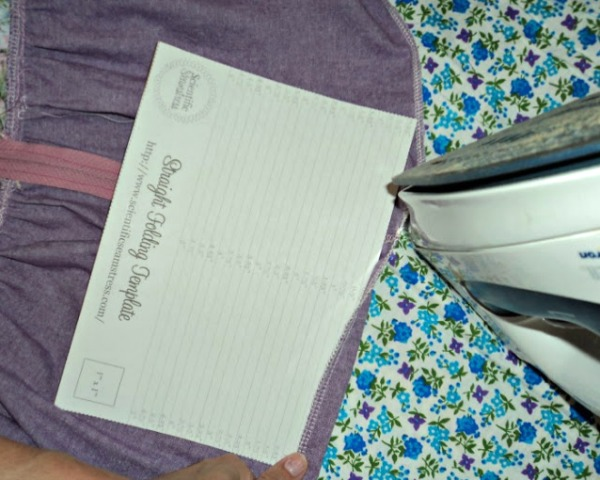 Folding Template Tool National Sewing Month | The Sewing Loft
