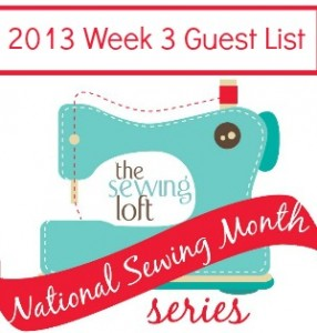 2013 National Sewing Month Week 3