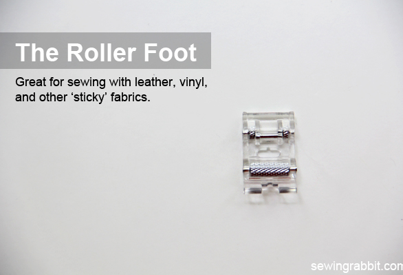 Discover and learn how to use the roller foot during National Sewing Month on The Sewing Loft #NationalSewingMonth #NSM2013