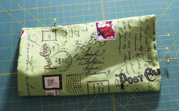 Create an elastic top gift bag with a bodkin. #NationalSewingMonth on The Sewing Loft