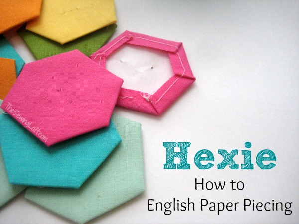 English Paper Piecing Hexies