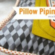 Pillow Piping Made Easy