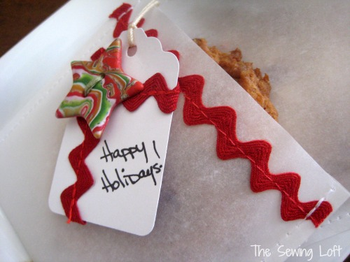 Holiday Bake Craft Sew Along Guest Project by The Sewing Loft