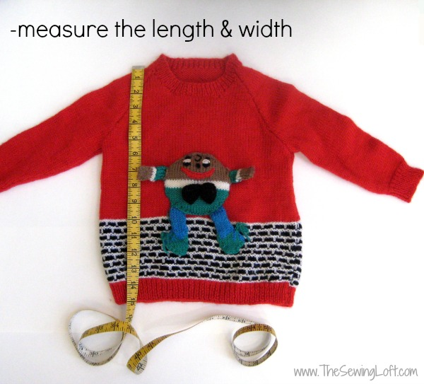 Ugly Christmas Sweater DIY Remake The Sewing Loft