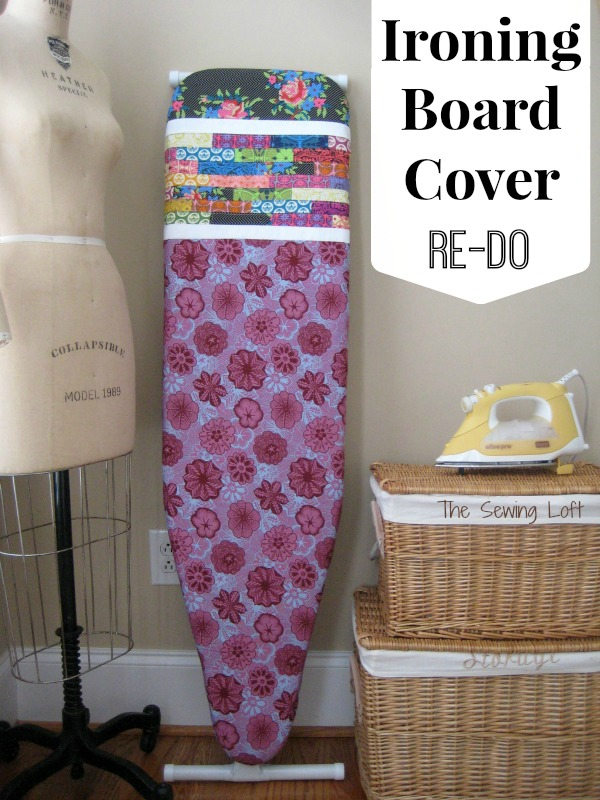 Ironing Board Cover using the True Colors fabric collection designer by Anna Maria Horner | The Sewing Loft  #lovefabricfreespirit