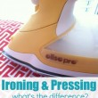 Pressing and Ironing – What's the difference?