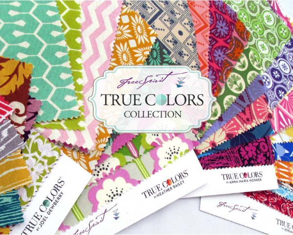 True Colors Fabric Collection with FreeSpirit Blog Tour & Giveaway #lovefabricfreespirit