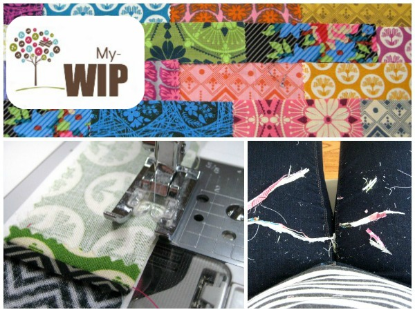 True Colors Project WIP | The Sewing Loft #lovefabricfreespirit