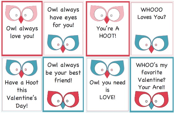 Free Valentines Day Printables by The Sewing Loft