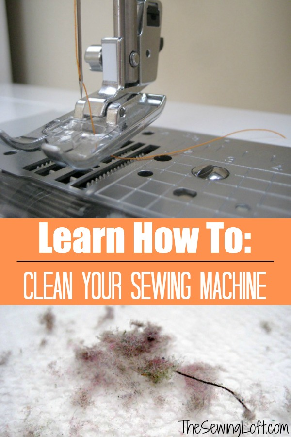 Learn how to clean your sewing machine. The Sewing Loft