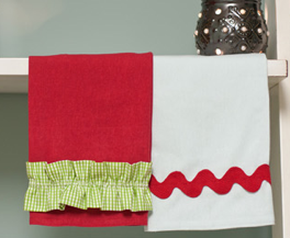Easy Tea Towels. The Sewing Loft