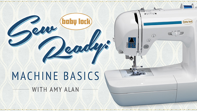 Need a little extra help getting comfortable with your machine? Check out this free Craftsy Class brought to you by BabyLock.