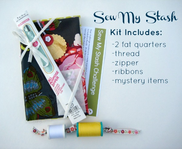 Sew My Stash Challenge Kit on The Sewing Loft
