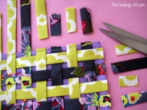 Fabric Weaving – Pincushion Project