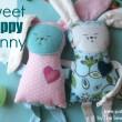 Sweet Floppy Bunny Pattern- free pattern