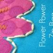 Flower Zipper Pouch Pattern