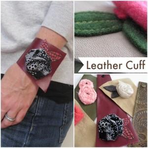 Leather Cuff Bracelet Tutorial