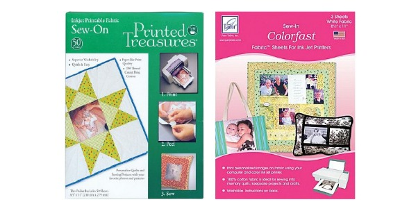 Use printable fabric sheets to personalize your sewing projects. The Sewing Loft
