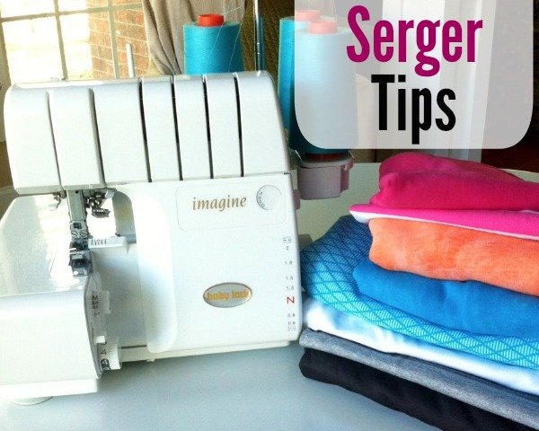 Tips to take the scary out of serving.  The Sewing Loft