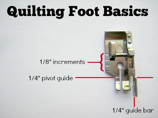 The markings on your quilting foot can take your topstitching to a new level. Learn their meaning and how to use. The Sewing Loft