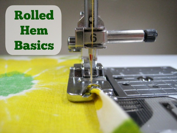 Rolled Hem Basics How To The Sewing Loft Custom Sewing Machine For Hemming