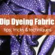 Dip Dyeing Fabric