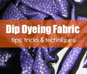 Dip Dyeing Fabric